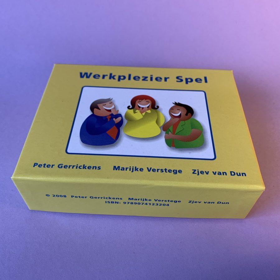 Werkplezier spel van Peter Gerrickens